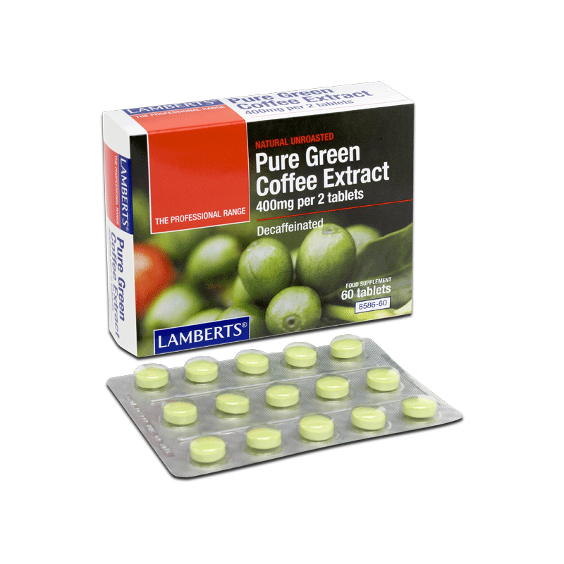 PURE GREEN COFFEE+CHILLI COMPLEX 60TABS