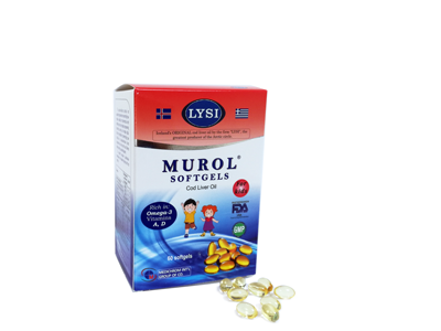 MUROL SOFTGELS KIDS