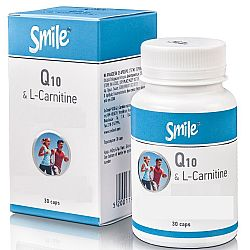 SMILE Q10&CARNITINE 30CAPS